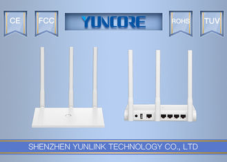 300Mbps 5dBi 11n Wireless Router , High Gain MIMO Antenna 2T2R 802.11 Wifi Router