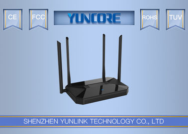 1200Mbps Gigabit Dual Band Wireless Router , 11ac Wifi Router MU - MIMO Support Beamforming Tech