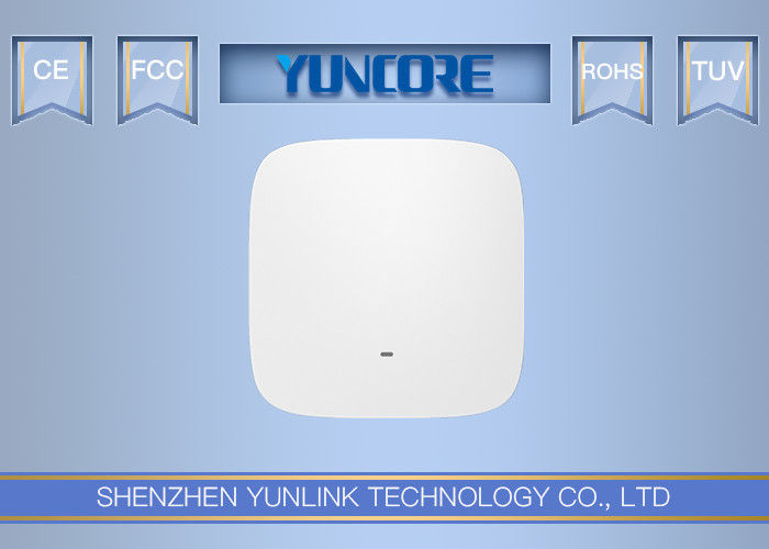 500mW Power Dual Radio Wifi AC Access Point 48V 802.3af 750Mbps For School