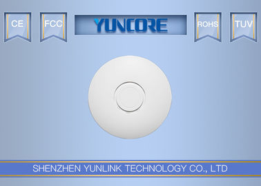 China Round 48V 802.3at PoE 802.11 AC Access Point For Hotel / Home With 5dBi Antenna factory